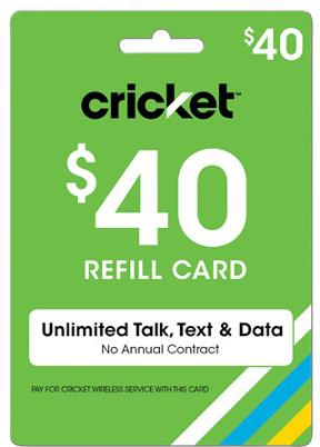 Free Cricket Wireless Reload Codes