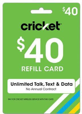 Free Cricket Wireless Reload Codes